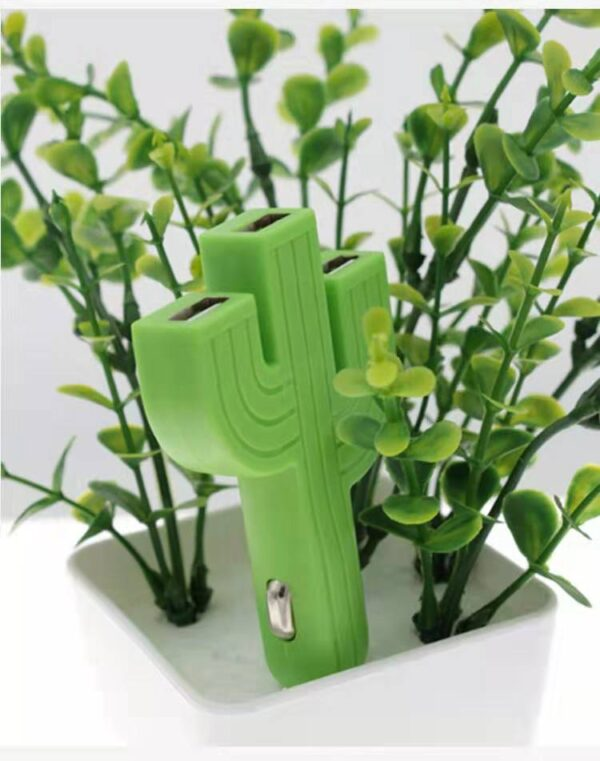 Cactus-Shaped Mobile Phone Charger